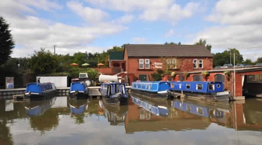 Anderton Marina in Cheshire